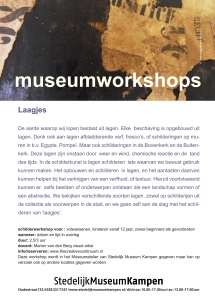 workshop Laagjes