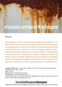 workshop Roest