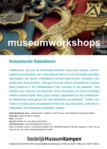 workshop fabeldieren