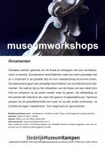 workshop ornamenten-grisaille